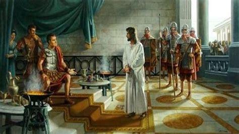 Imagenes De Jesus Ante Pilato | evangelio de juan conferencia 42 jes 250 s ante pilato
