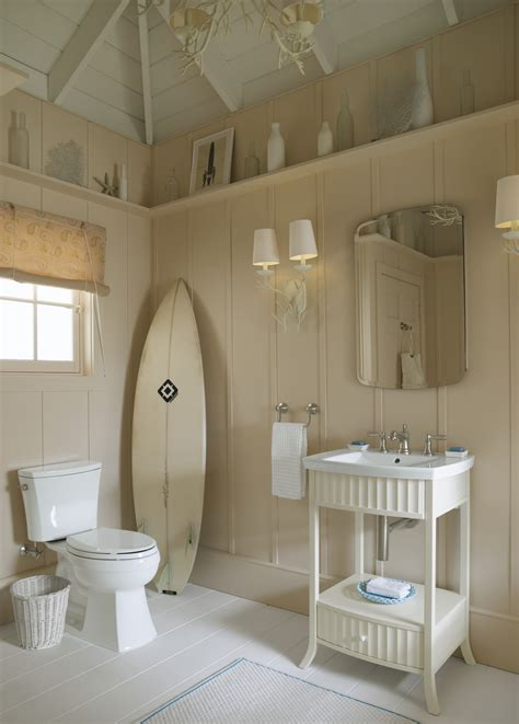 interior good looking design ideas for bathroom decoration rustic beachy bathroom design with brown wood wall