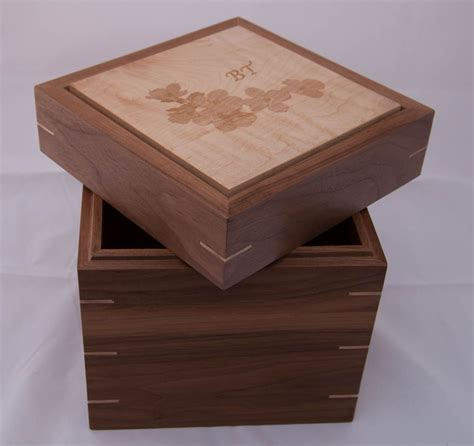 ashes box made box for cremation ashes by bench woodworks custommade