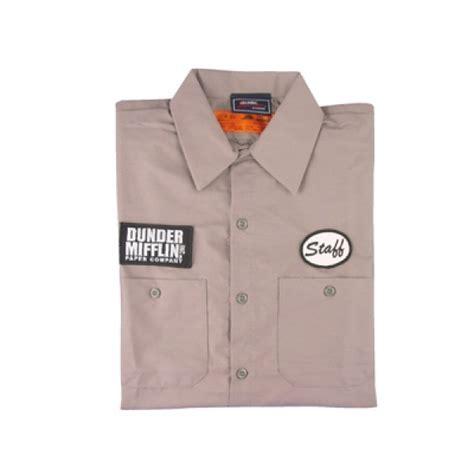 office dunder mifflin warehouse staff shirt