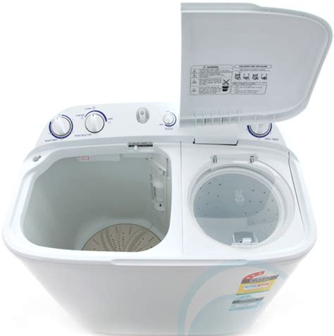 twin bathtub 6kg top load haier twin tub wa appliances online