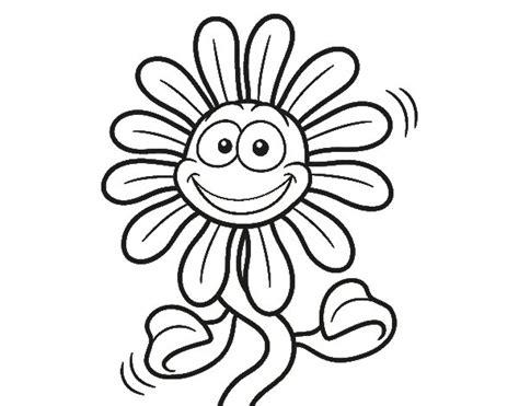 imagenes de flores sin pintar dibujo de flor animada para colorear dibujos net