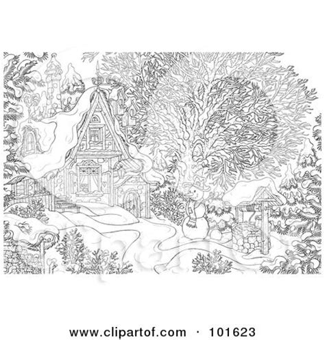 advanced landscape coloring pages 1000 images about advanced coloring christmas on