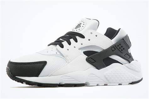 black and white patterned huaraches nike air huarache gs white black anthracite