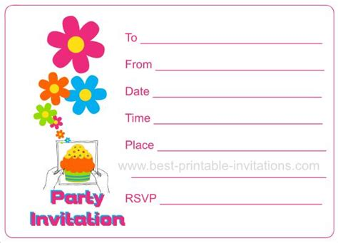 birthday invitation card free 2 invitation card
