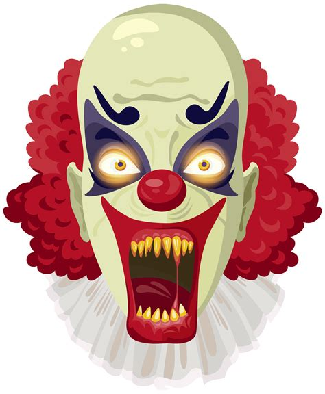clown clipart clown clipart creepy pencil and in color clown clipart