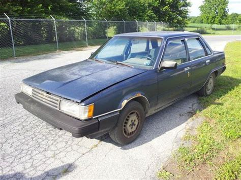 1986 Toyota Accessories Find Used 1986 Toyota Camry Diesel Runs With Many