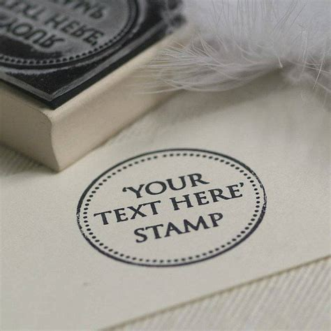 rubber st design your own your own text rubber st by pretty rubber sts