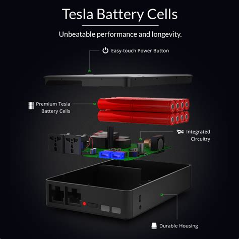 portable power supply ac power bank for laptops by