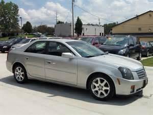 2003 Silver Cadillac Cts Cadillac Cts 2003 Cincinnati Mitula Cars