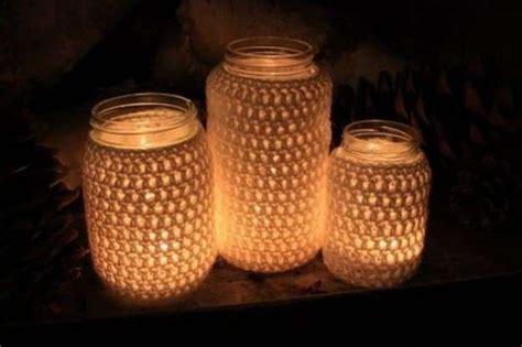 Candele Luminose by Decorare Casa Con I Barattoli Di Vetro Foto Design Mag