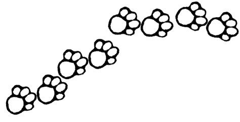 printable paw print clipart best
