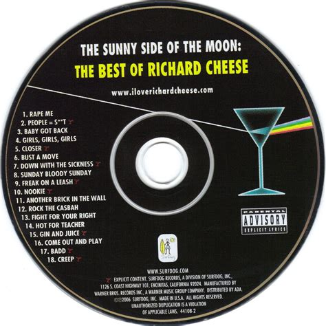 8tracks radio the side of the moon 16 songs the side of the moon the best of richard cheese
