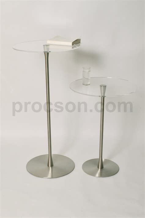 modern church furniture arc preachers table with clear top procson