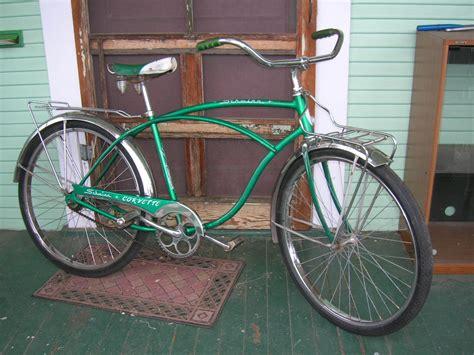 vintage bicycle repair schwinn eye