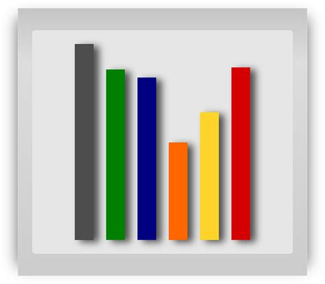 graph statistics bar  vector graphic  pixabay
