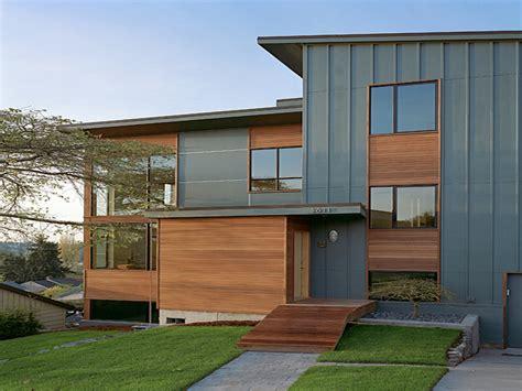 decor comfortable home  evening blue vertical siding