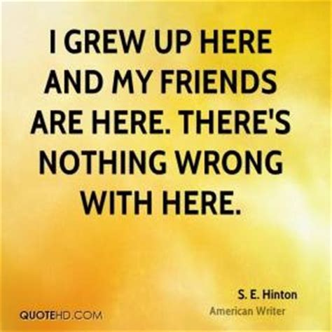 friendship themes in the outsiders s e hinton quotes quotesgram