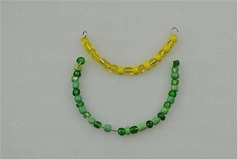how to make seed bead earrings how to make seed bead earrings 4 step seed bead