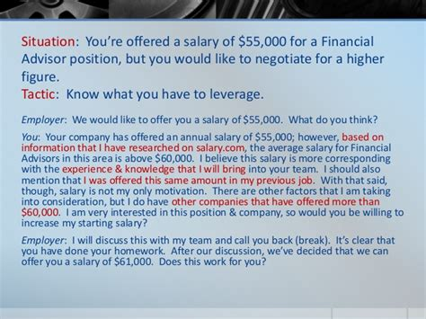 how to ask for a salary in a cover letter evaluating the offer salary negotiation