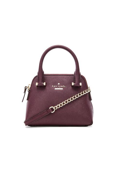 Kate Spade Monserrat Mini Purse by Kate Spade New York Mini Maise Crossbody Bag In Purple Lyst