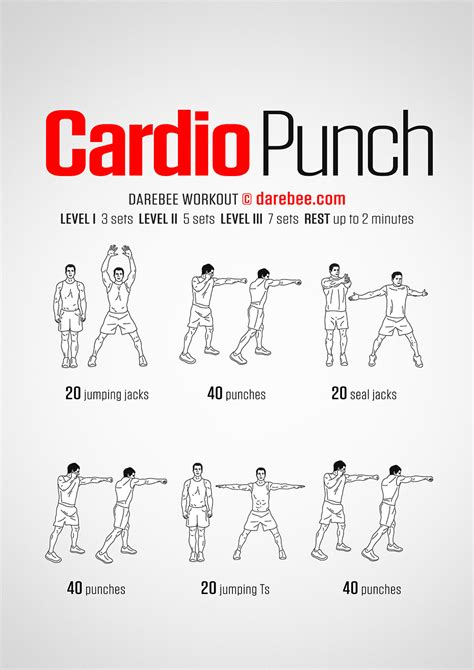 Workouts At Your Desk Cardio Punch Workout