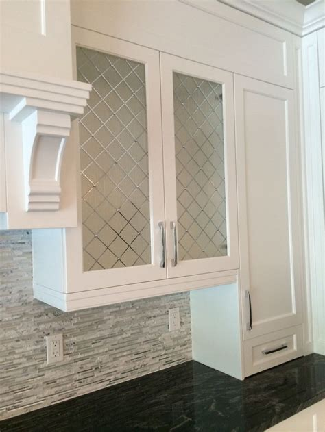Image result for frosted glass cabinet doors diy   House