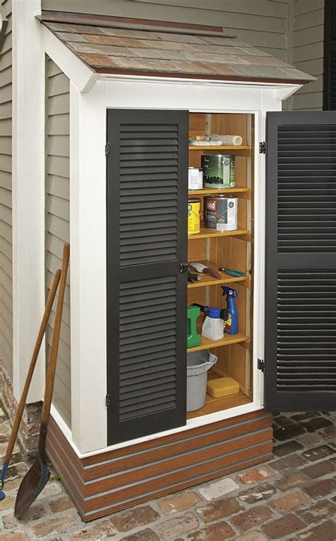 small outdoor storage closet 17 best images about organize on closet