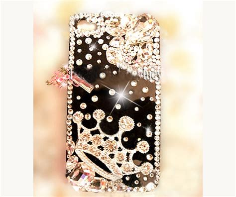 Blingcase Studed For Iphone iphone 5c iphone 5 iphone 5s bling iphone 5s crown on luulla