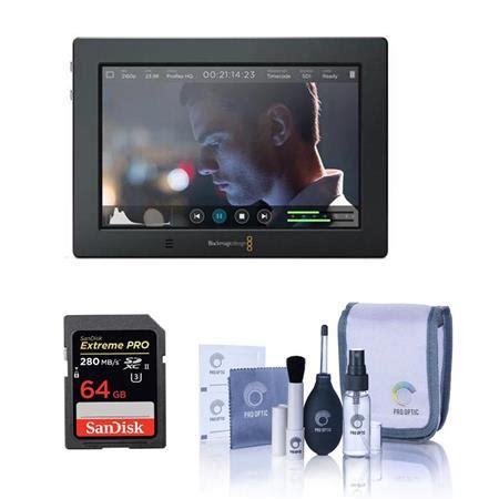 Lcd U3 blackmagic design assist 4k 7 quot touchscreen lcd