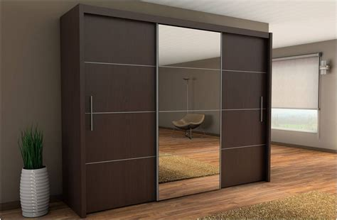 Brown Bedrooms Carlo Sliding Wardrobe Contemporary Bedroom Furniture