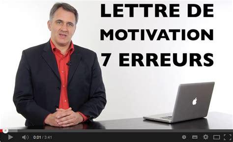 Conseils Bonne Lettre De Motivation bonne lettre de motivation employment application