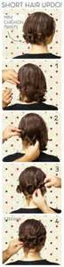 curly hair updos step by step best updos for short curly hair with picture step by step