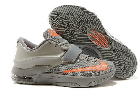grey and orange nike basketball shoes cheap nike kevin durant 7 grey orange basketball shoes