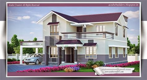 law badget house architecture home design kerala home designhouse plansindianmodelsestimateelevations small budget house