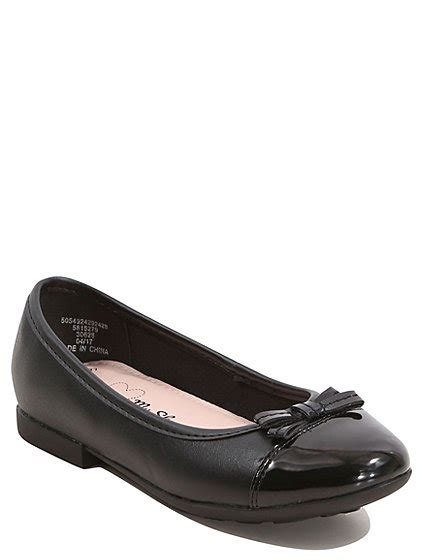 asda school shoes school leather patent toe bow shoes george