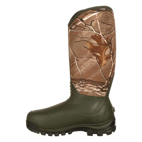 Insulated Rubber Boots by Rocky S 16 Quot Waterproof Insulated Rubber