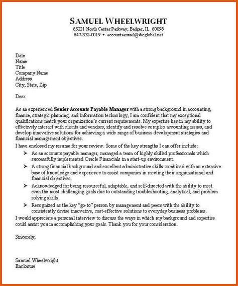 accounting cover letter general resumes
