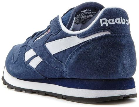 Reebok Clasics Original Bnib reebok classic leather suede retro trainers navy blue
