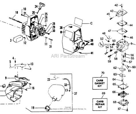 gas l post parts husqvarna gas trimmer parts model l sears partsdirect
