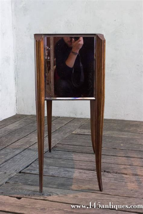 Mirrored Nightstand Sales by 1940s Mirrored Nightstand For Sale At 1stdibs