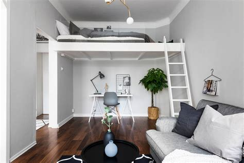 suspended bed dreamy studio apartment with a suspended bed daily