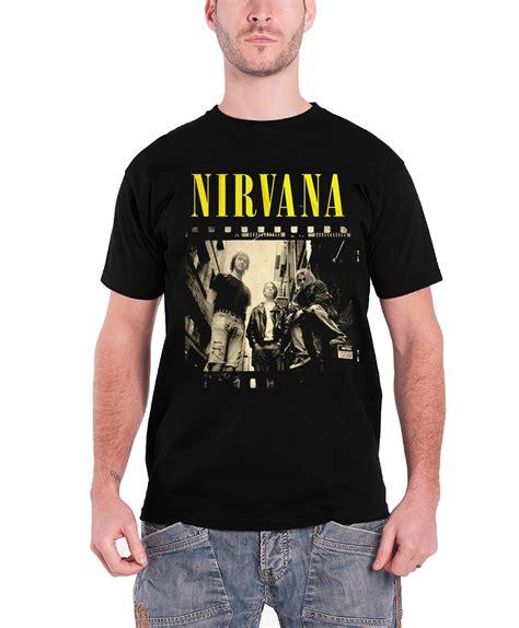 Tshirt Band Nirvana nirvana t shirt nevermind band logo kurt cobain in utero