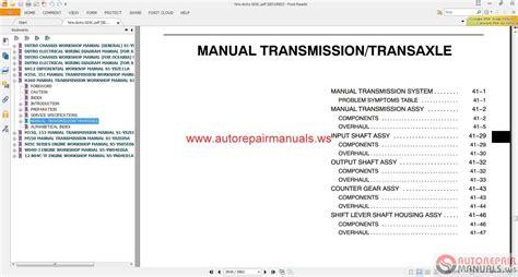 hino dutro wu xzu series repair manual auto repair