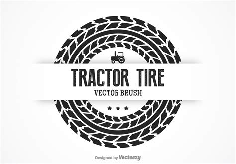 tractor tire vector brush   vector art stock graphics images