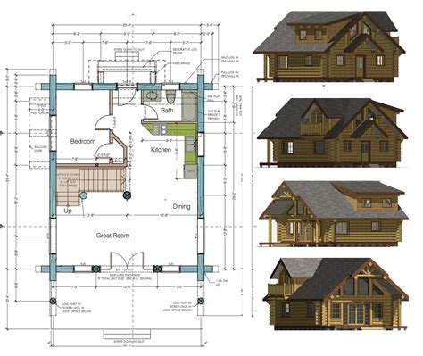 Cabin Designs And Floor Plans Cabin Floor Plans And Designs 1000 Sq Ft Cabin Plans Bungalow Plans Free Mexzhouse