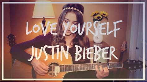 tutorial dance love yourself love yourself justin bieber guitar tutorial easy