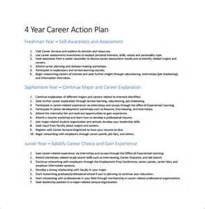 career plan template career plan template 8 free word excel pdf