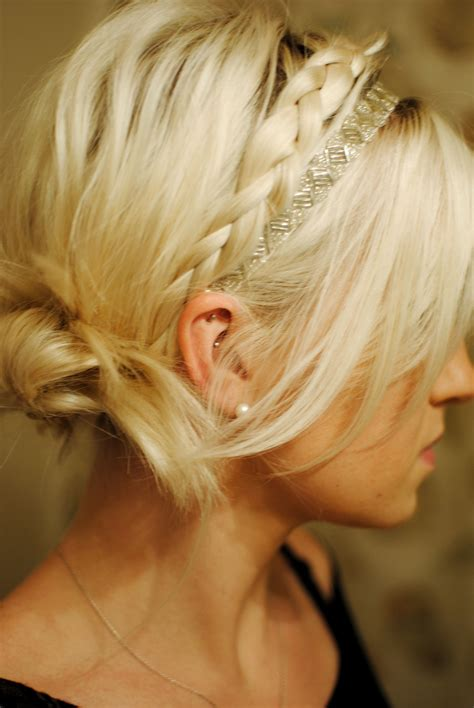 Updo For Black Tie Event | braided updo simple and pretty perfect for a special