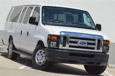 accident recorder 2002 ford econoline e150 seat position control purchase used 2010 ford e350 xl 15 passengers van rear air 599 ship in stafford texas united
